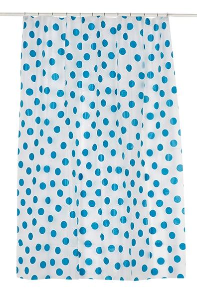 Cortinas De Baño Azul:Cortina de baño PAINTBALL 180X200 AZUL Ref 17071663 – Leroy Merlin