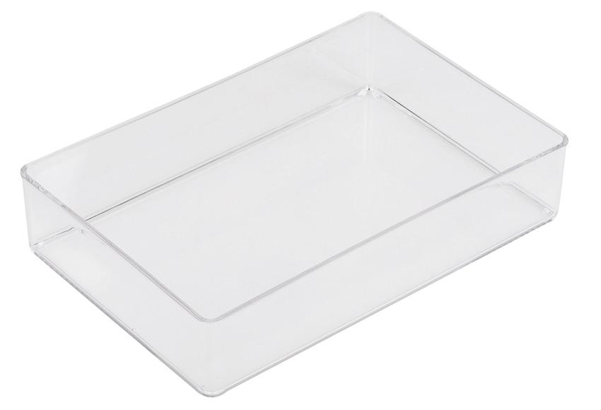 Organizador transparente puzzle ref 16021173 leroy merlin for Metacrilato transparente leroy merlin