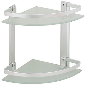 Baldas y estantes para el ba o leroy merlin - Estanterias de cristal para banos ...