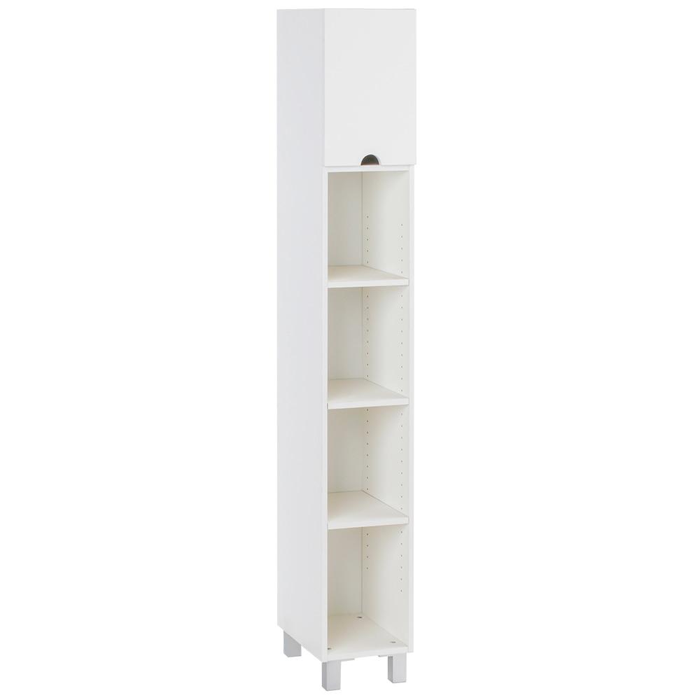Mueble auxiliar de ba o lavanderia estante ref 17512152 for Mueble 25 cm ancho