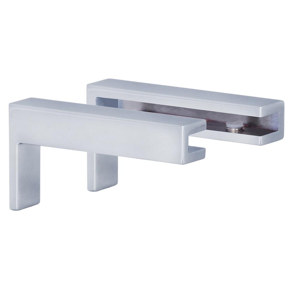 Soportes para estantes square ref 15388492 leroy merlin - Baldas bano leroy merlin ...