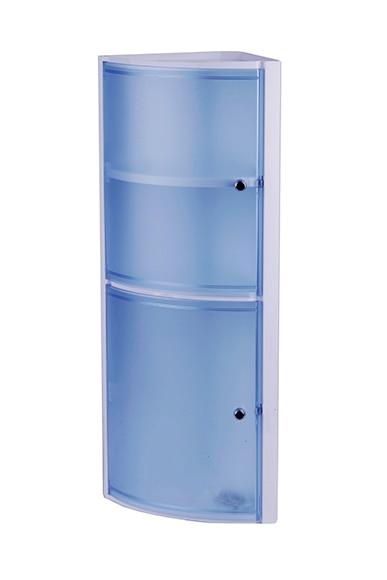rinconera de ba o azul kristal ref 14712460 leroy merlin