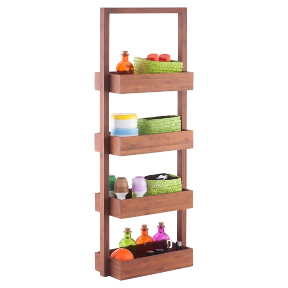 estanter a de madera wellness ref 16021782 leroy merlin