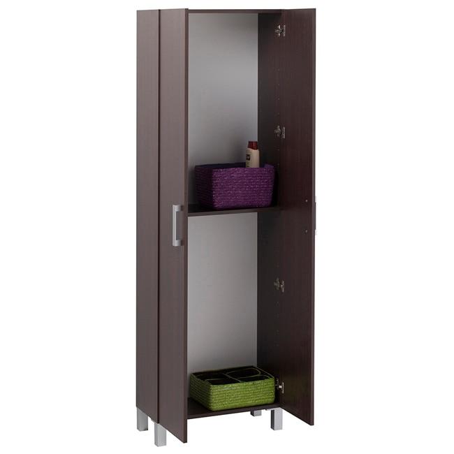 Mueble auxiliar de ba o serie capacity columna 2 puertas ref 16755613 leroy merlin - Puertas de bano leroy merlin ...