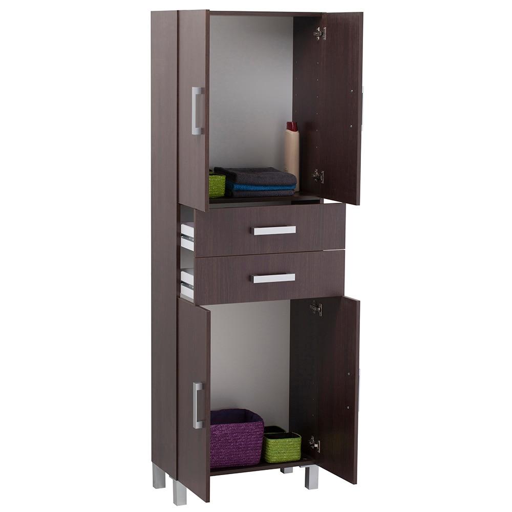 Mueble ba o columna wengue - Puertas para muebles de bano ...