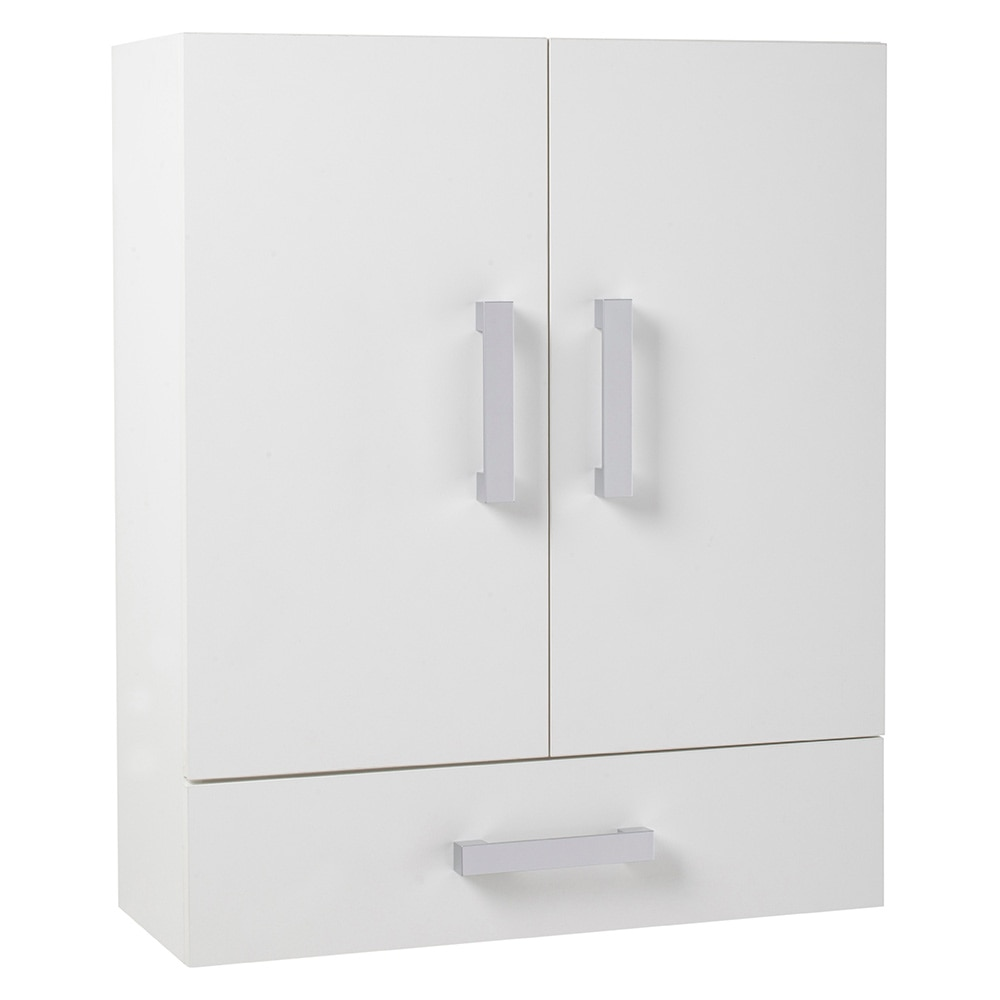 Mueble auxiliar de ba o serie capacity de colgar 2 puertas for Percheros de pared leroy merlin