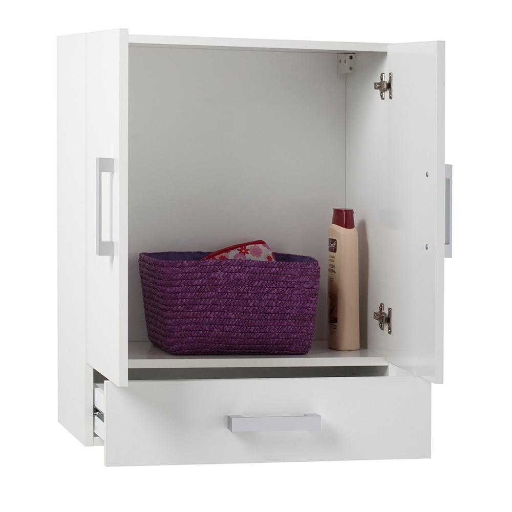 Kit Para Puertas De Baño:Mueble auxiliar de baño SERIE CAPACITY DE COLGAR 2 PUERTAS Ref