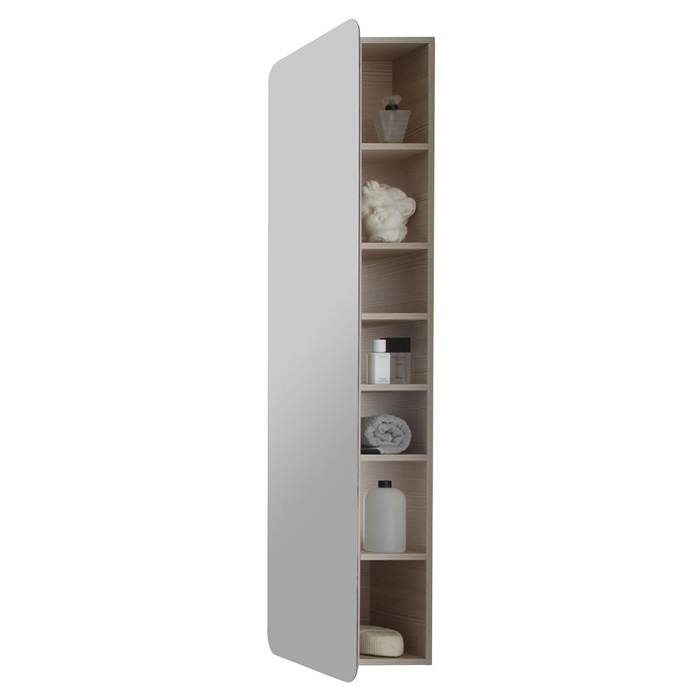 Serie contea columna espejo leroy merlin for Columna almacenaje bano