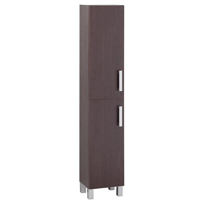 Mueble auxiliar de ba o serie eco columna ref 16730980 for Columna almacenaje bano