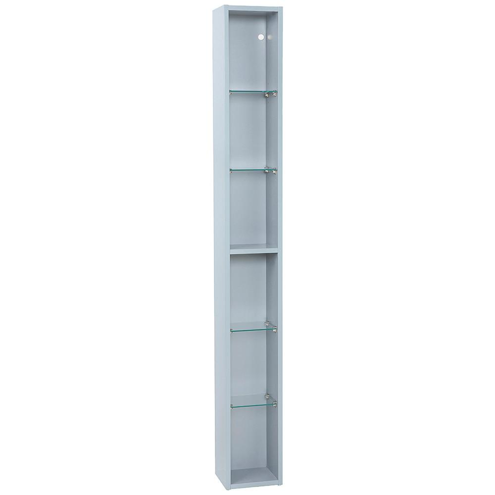 Mueble auxiliar de ba o serie elea columna ref 16742236 for Columna almacenaje bano