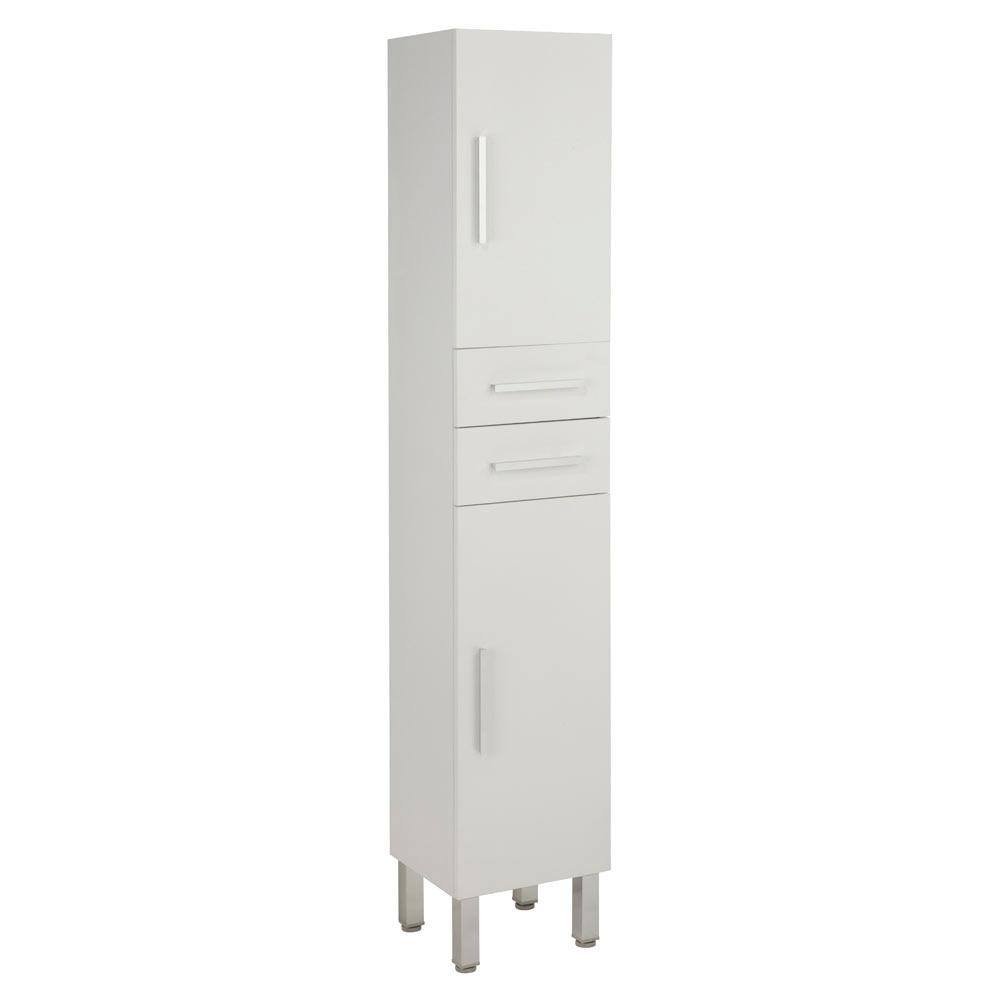 Mueble auxiliar de ba o serie madrid columna ref 18209870 for Muebles auxiliares de cocina en leroy merlin