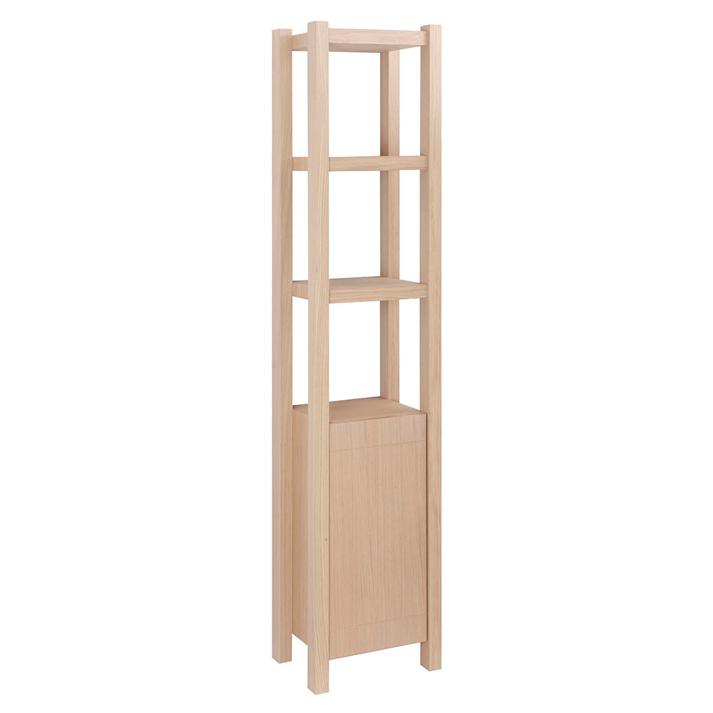 Mueble auxiliar de ba o serie stone columna ref 17966704 for Mueble columna bano