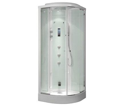 cabina de hidromasaje con sauna evoclass ref 16689974 leroy merlin. Black Bedroom Furniture Sets. Home Design Ideas