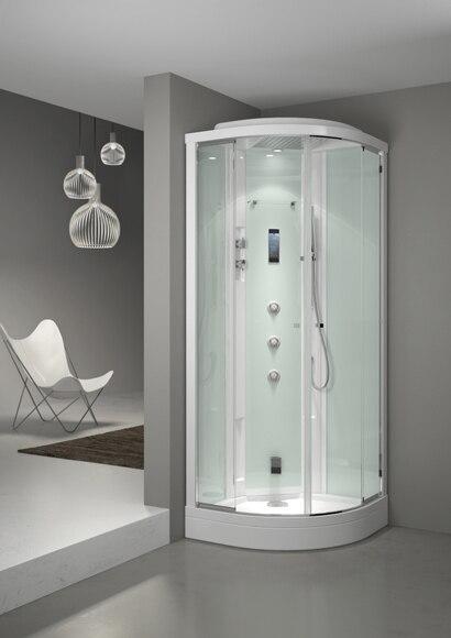 cabina de hidromasaje con sauna evoclass ampliar imagen