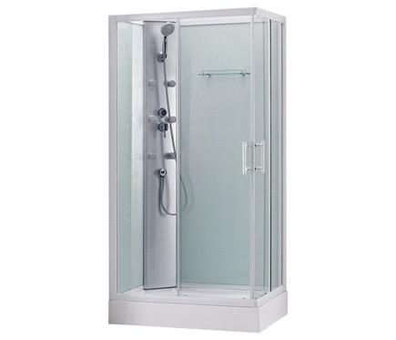 Cabina de hidromasaje prima rectangular ref 15449196 for Cabinas de ducha medidas