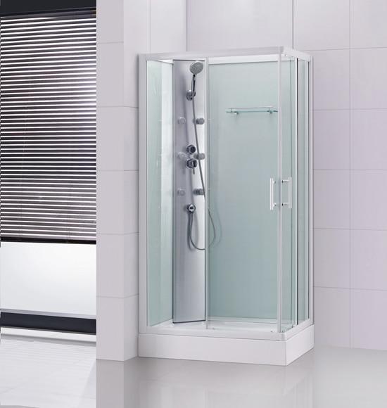 Cabina de hidromasaje prima rectangular ref 15449196 for Ducha jardin leroy merlin