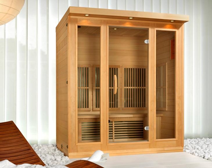 sauna de infrarrojos timor ref 15234450 leroy merlin. Black Bedroom Furniture Sets. Home Design Ideas