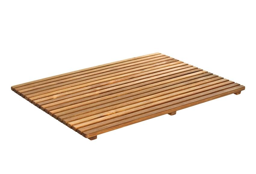 Tarima de ba o rectangular ref 14917672 leroy merlin - Tarimas de bano ...