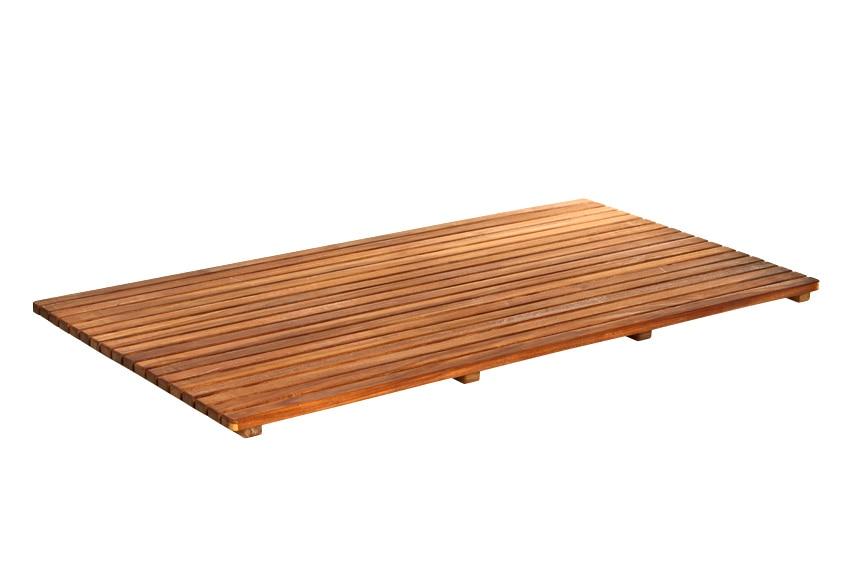 Tarima de ba o rectangular ref 14917735 leroy merlin - Tarima de bano ...