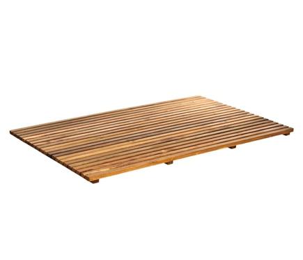 tarima de ba o rectangular ref 14917763 leroy merlin
