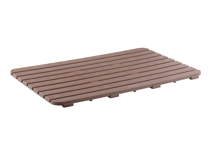 Tarima de ba o rectangular ref 16854586 leroy merlin - Tarima de bano ...