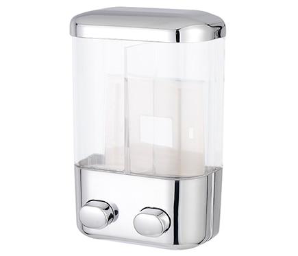 Dispensador de jab n abs cromo 2 salidas ref 13644141 for Dispensador de jabon para ducha