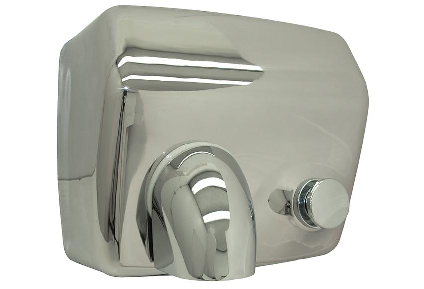 Secador de manos manual cromo ref 15962443 leroy merlin - Secador de manos ...