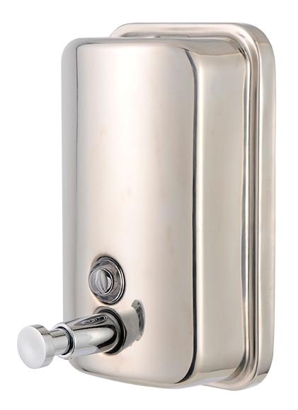 Dispensador de jab n dj002ib ref 16107945 leroy merlin - Dispensador jabon pared ...