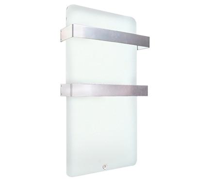 Radiador toallero decorativo el ctrico haverland xtal4 for Leroy merlin toalleros electricos