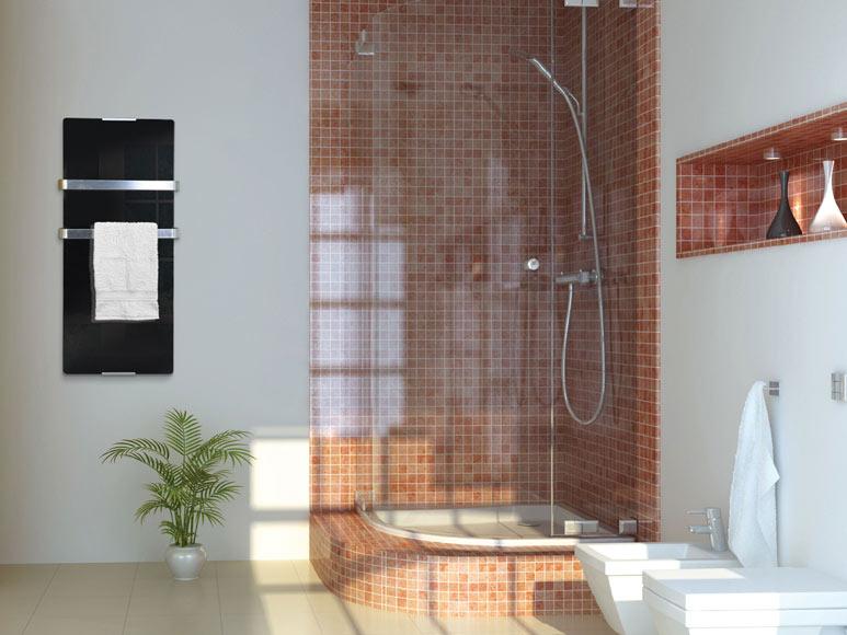 Radiador toallero decorativo el ctrico pur line zafir ref - Radiador toallero leroy merlin ...
