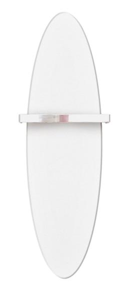 Radiador toallero decorativo de agua cicsa zeta flat ovalo - Radiador toallero agua leroy merlin ...