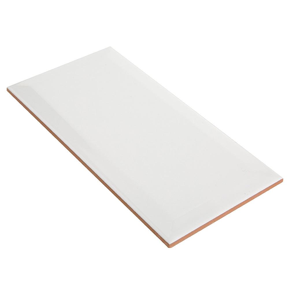 Revestimiento de cer mica 10x20 blanco serie biselado ref 19317802 leroy merlin - Leroy merlin ceramica ...