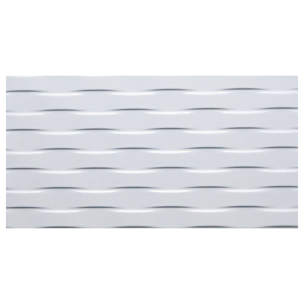 Revestimiento cm blanco mate serie blanco ref - Azulejos blancos leroy merlin ...