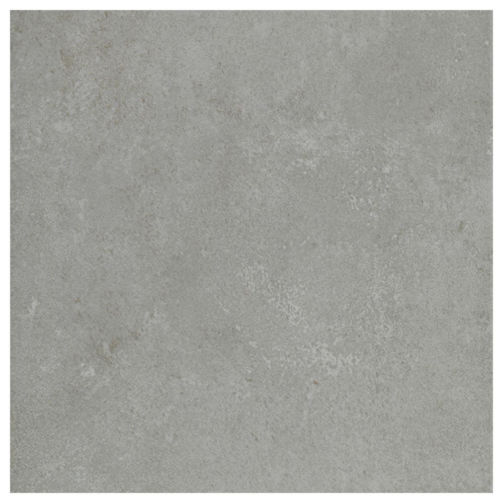 Pavimento 45x45 cm gris serie cemento ref 17116225 for Cordoli in cemento leroy merlin