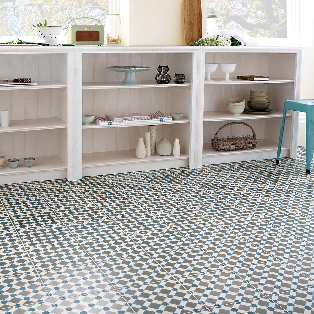 Pavimento 45x45 cm azul antideslizante serie henley ref - Azulejos suelo ...