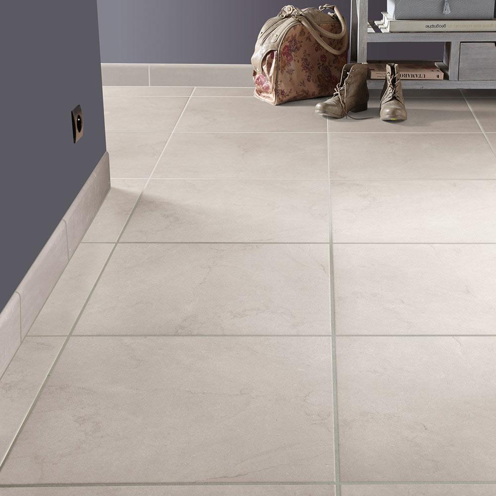 Pavimento 45x45 cm ecru serie malaga ref 18016915 leroy for Pavimentos leroy merlin