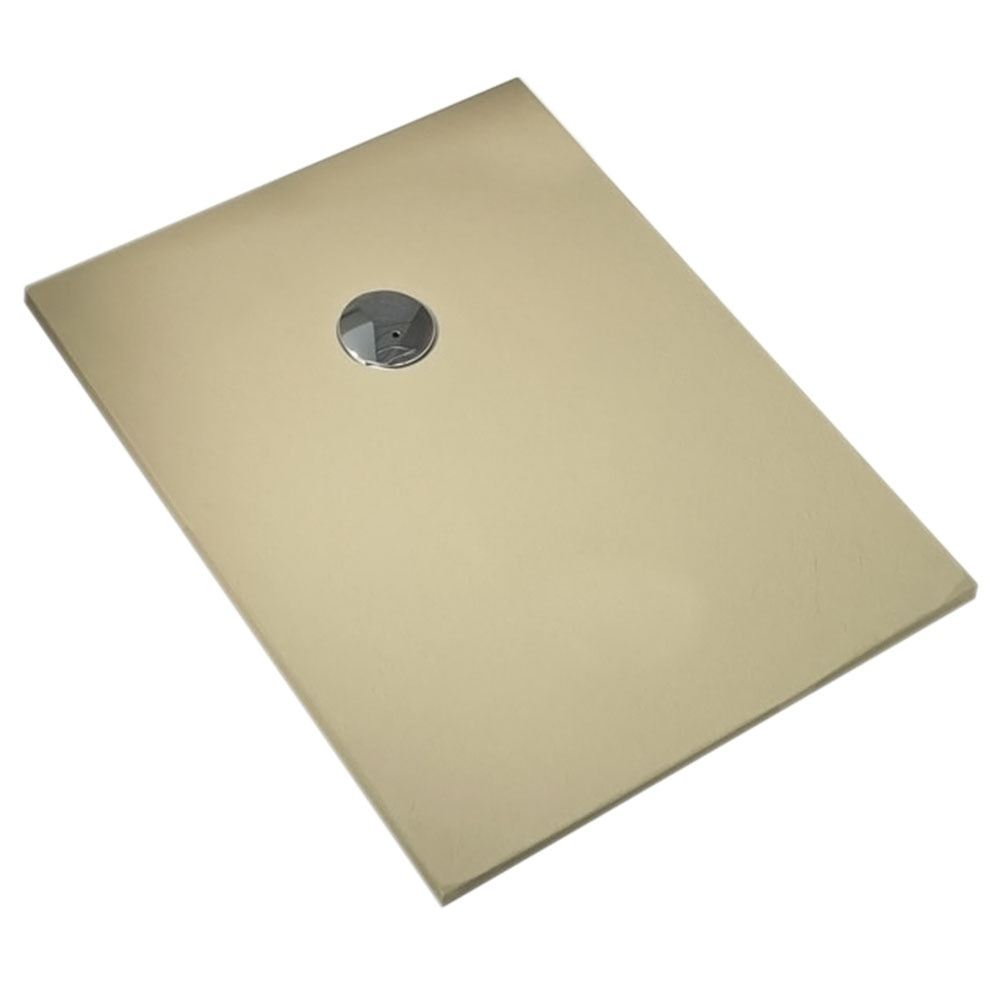 Plato de ducha carga mineral compact rectangular ref for Ducha jardin leroy merlin