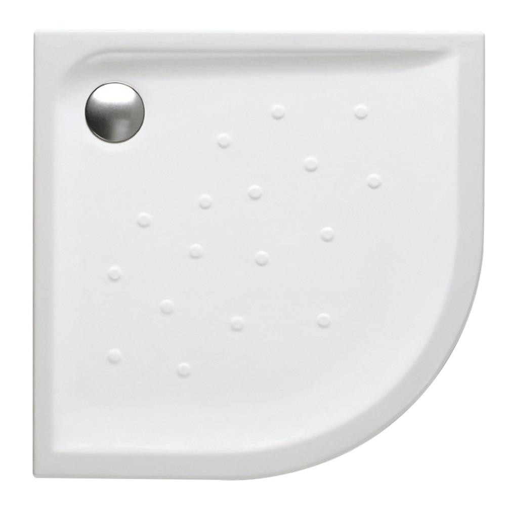 Plato de ducha cer mico roca gres cuarto de c rculo malta - Plato de ducha ceramico ...