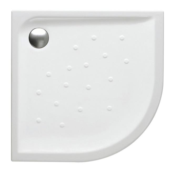 Plato de ducha cer mico roca gres cuarto de c rculo malta for Plato ducha ceramico