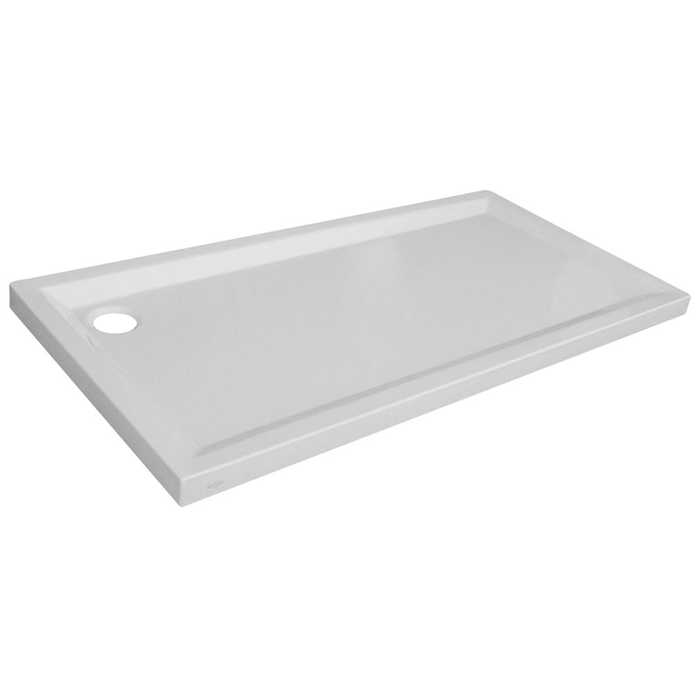 Plato de ducha acr lico houston rectangular ref 14711046 - Leroy merlin platos de ducha ...