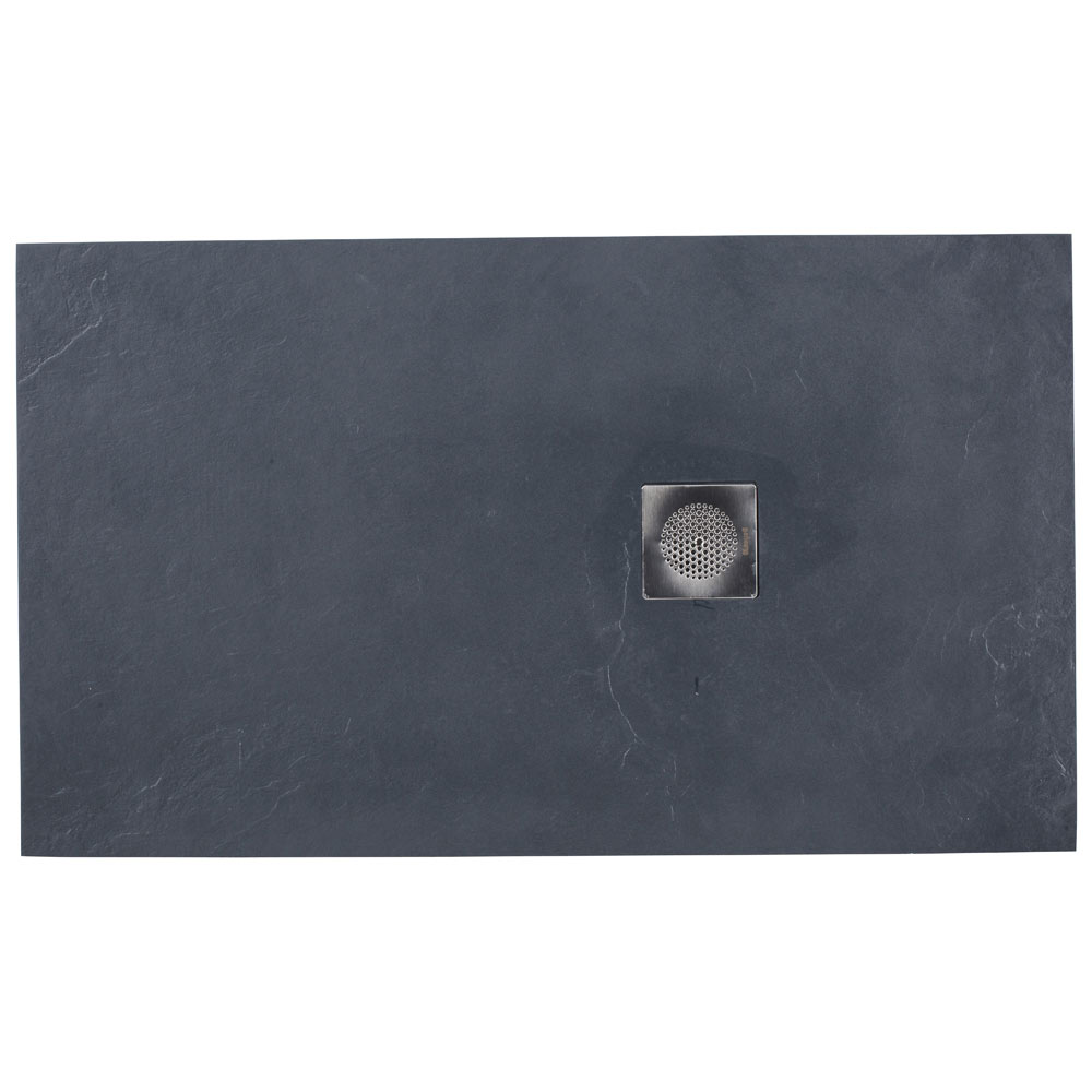 Plato de ducha obath pizarra rectangular ref 17796772 for Pizarra adhesiva leroy merlin