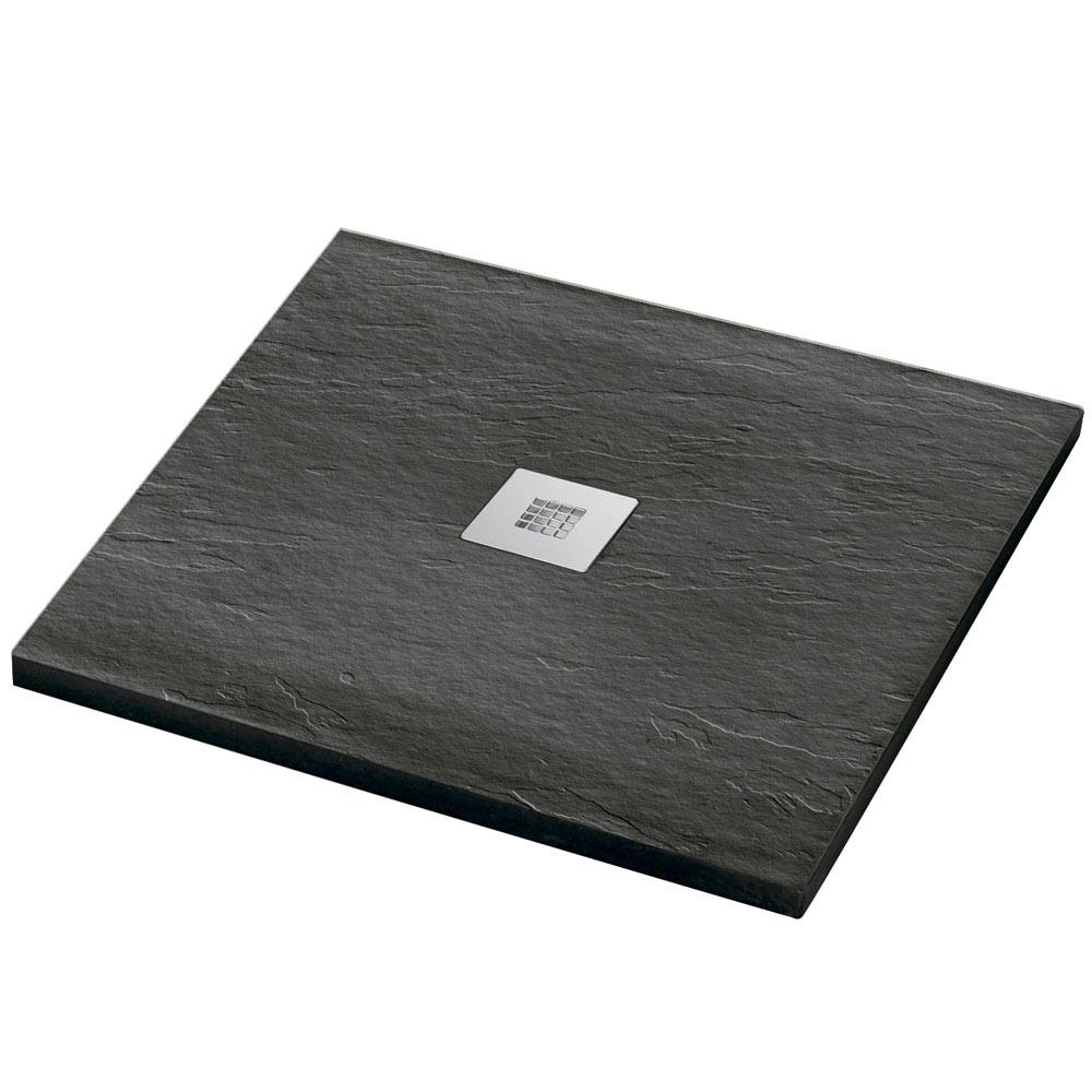 Plato de ducha carga mineral urban cuadrado ref 16810766 for Plato ducha 60 x 80