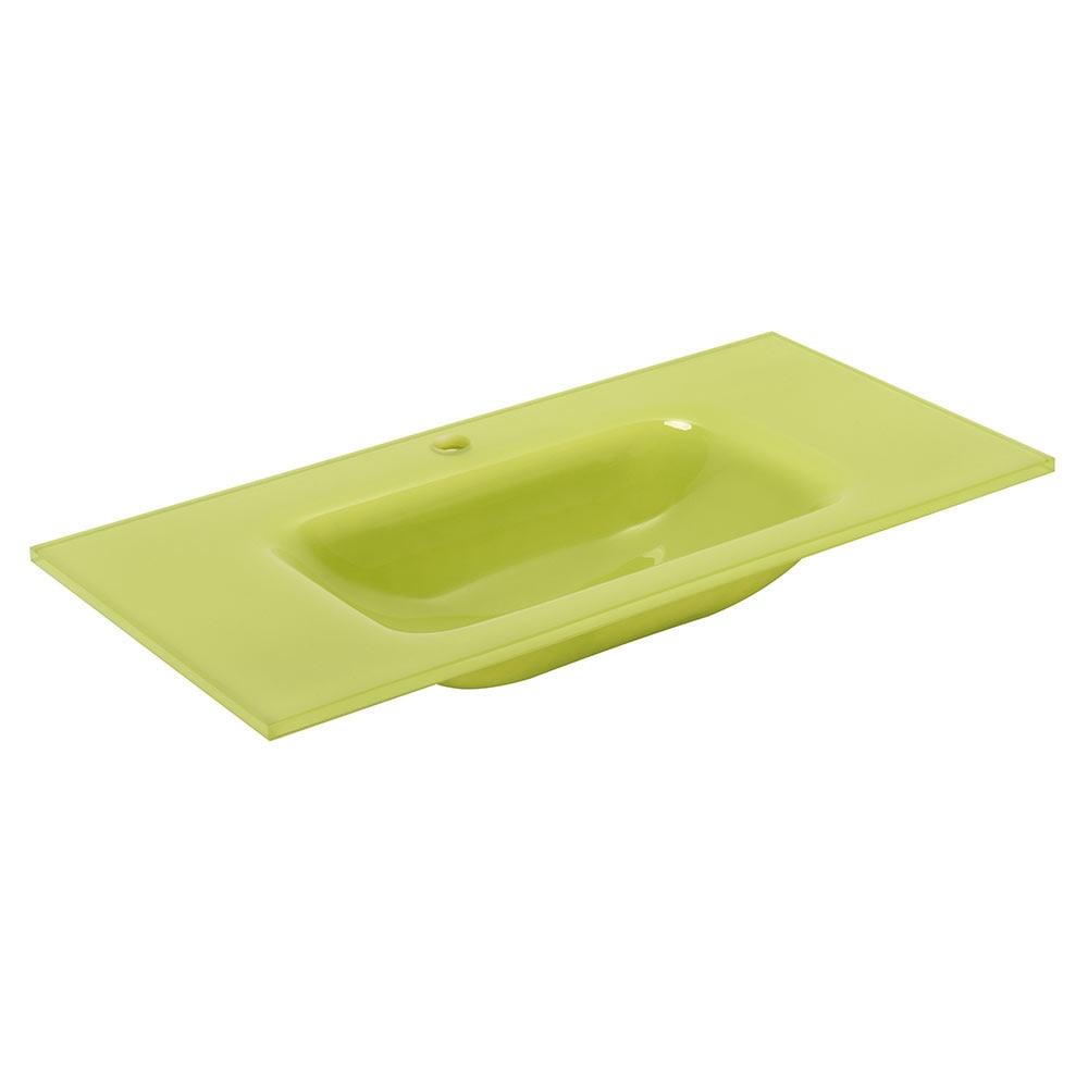 Lavabo Verde Pistacho.Lavabo De Bano Serie Cristal Normal Ref 17339084 Leroy Merlin