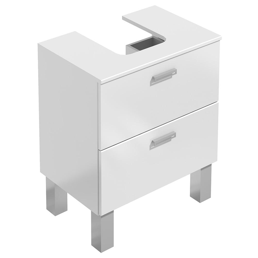Mueble de lavabo acacia ref 14989282 leroy merlin - Muebles de bano para lavabos con pie ...
