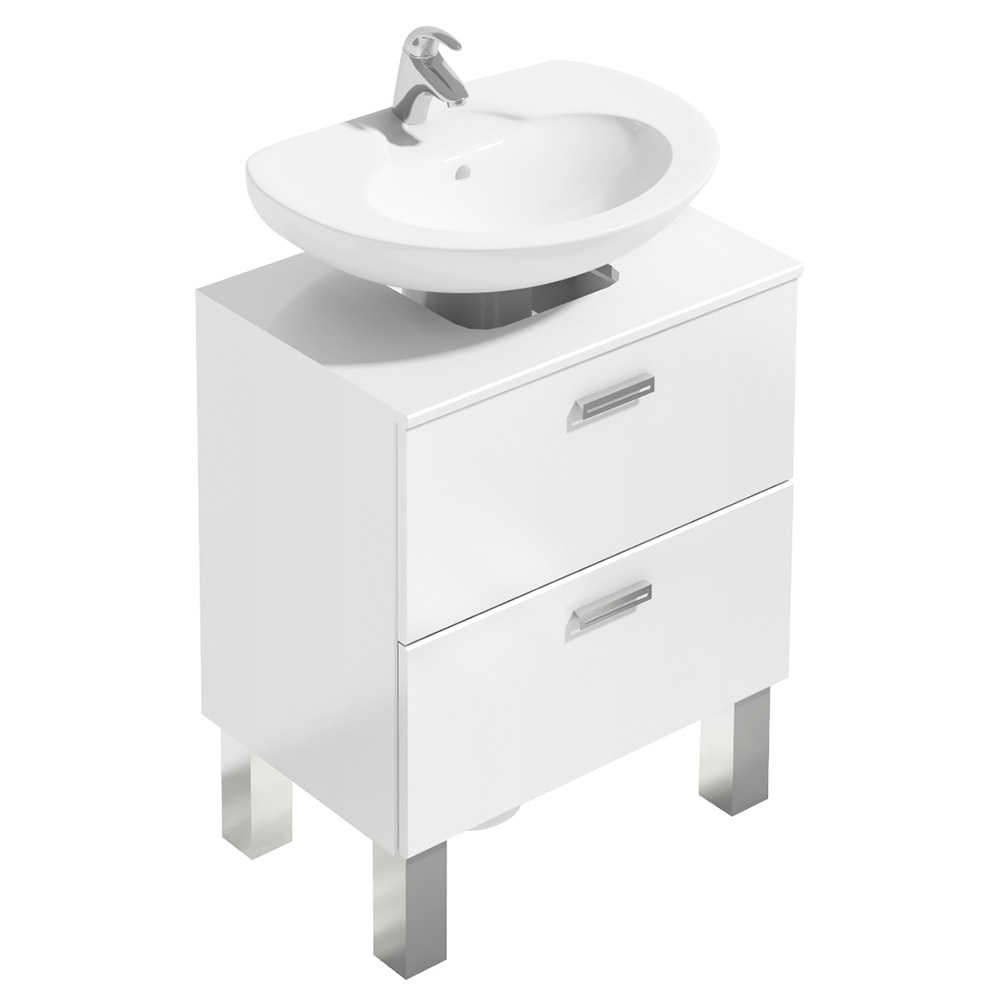 Mueble de lavabo acacia ref 14989282 leroy merlin - Financiar muebles sin nomina ...