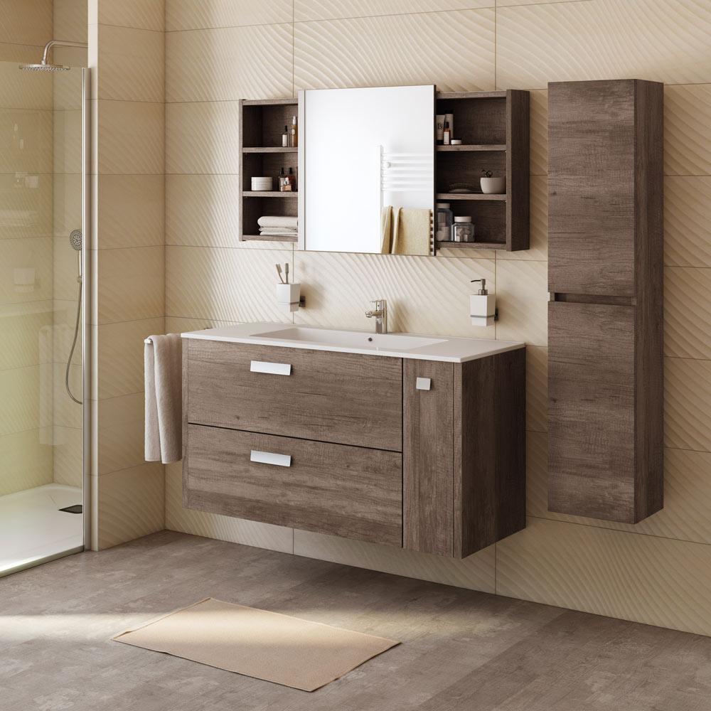 Mueble de lavabo alicia ref 18372123 leroy merlin for Lavabo pequeno leroy merlin