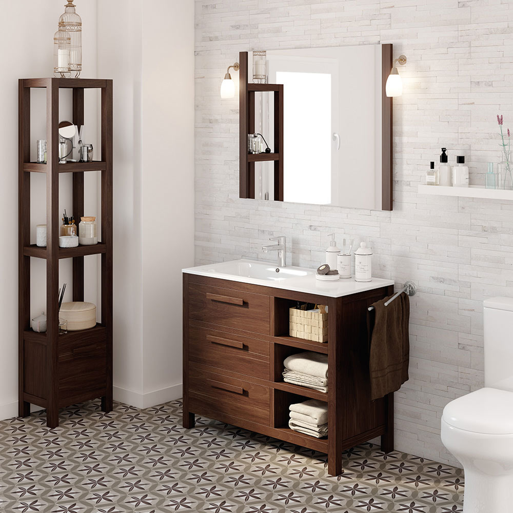 mueble de lavabo amazonia ref 17863643 leroy merlin. Black Bedroom Furniture Sets. Home Design Ideas