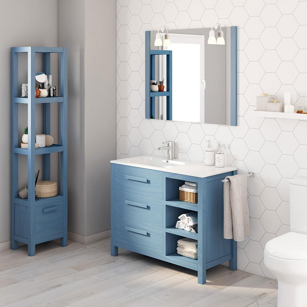 Mueble de lavabo amazonia ref 17863776 leroy merlin for Amazon muebles de bano