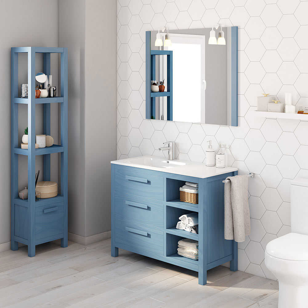 Mueble de lavabo amazonia ref 17863776 leroy merlin for Amazon lavabos