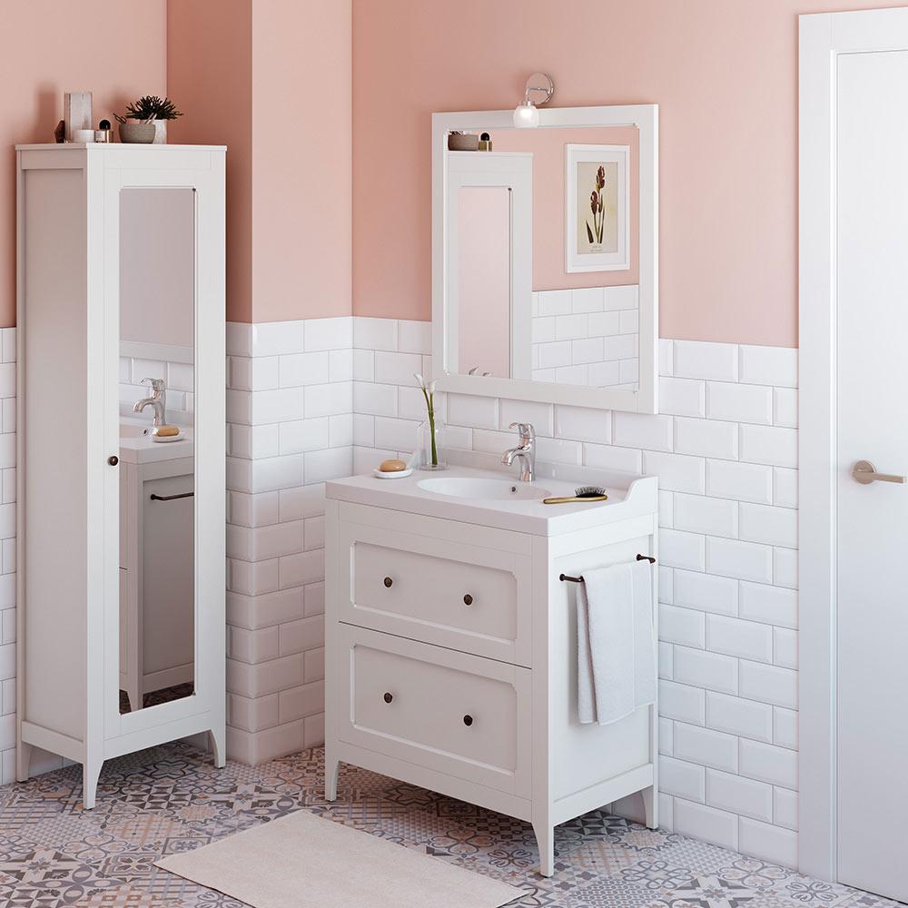 Mueble de lavabo ashley ref 18566184 leroy merlin for Lavabo leroy merlin